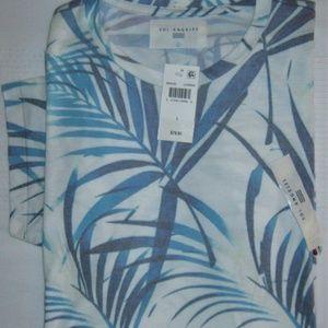 Sol Angeles Shirts - Sol Angeles Las Brisas Graphic T-Shirt Blue White